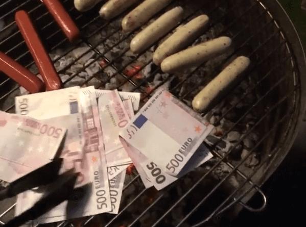 Absolut verr ckt er verbrennt jetzt einfach so 6000 euro for Cocina 6000 euros