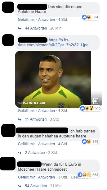 Ronaldo Schnitt Fans Lachen Uber Kurdos Neue Frisur Raptastisch