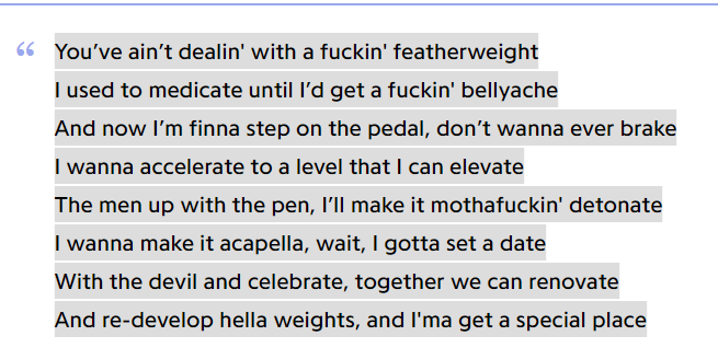 Rap texte selber schreiben