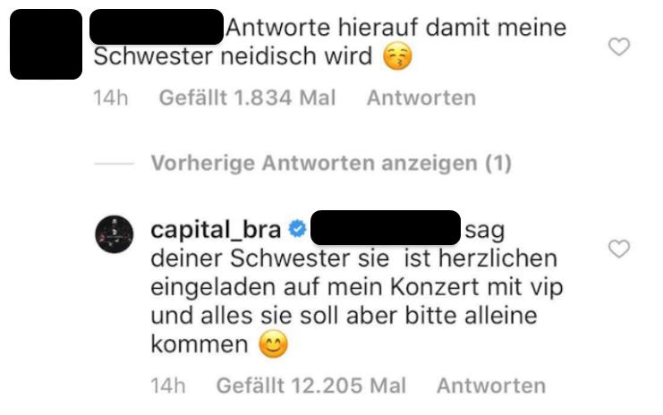 Capital Bra zerstört ein Mädchen und 12.000 Fans rasten