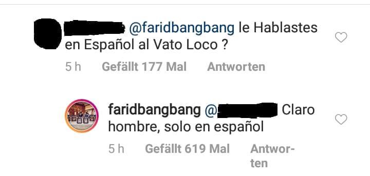 Farid Bang mit Capo und 6ix9ine