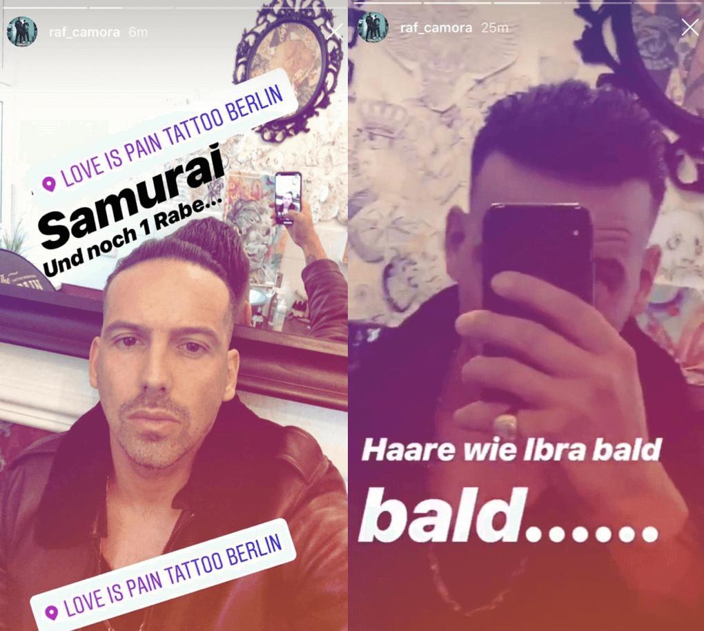 Anderer Mensch Raf Camora Zeigt Seine Neue Frisur Raptastisch
