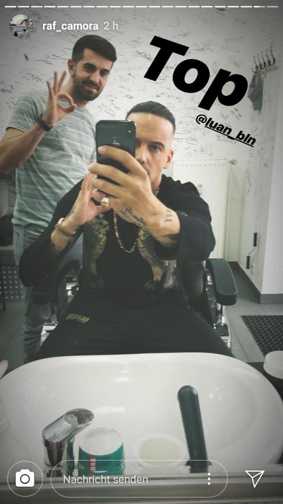 Wie Ibrahimovic Raf Camoras Neue Frisur Ist Fertig Raptastisch
