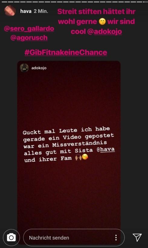 Hava und Adokojo via Instagram