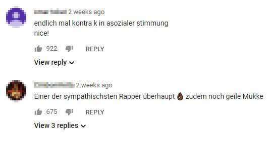 Reaktionen zum Video