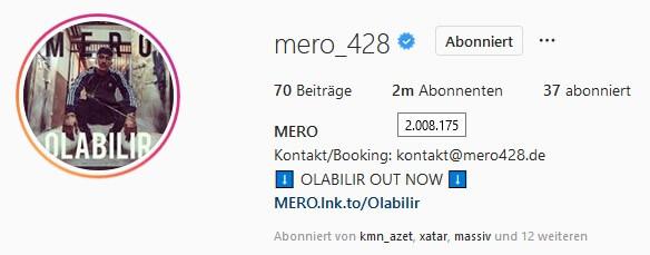 Mero via Instagram