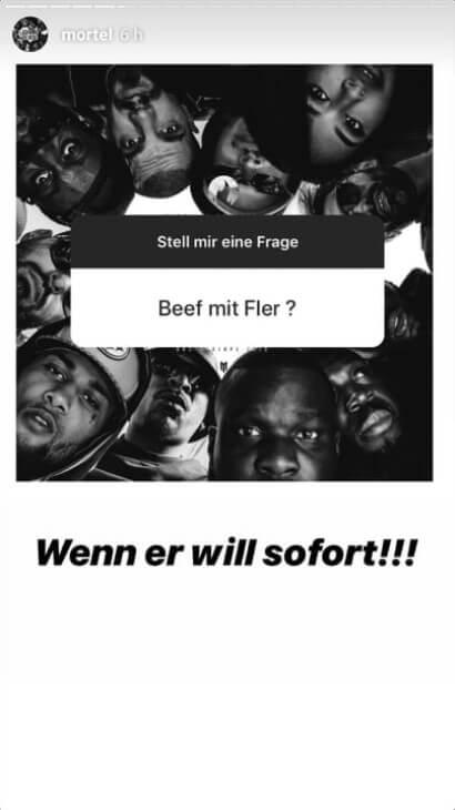 Mortel via Instagram