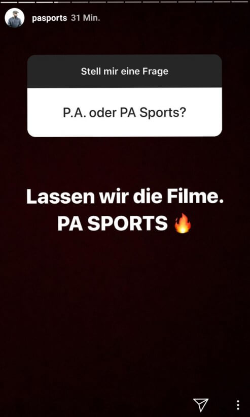 PA Sports via Instagram