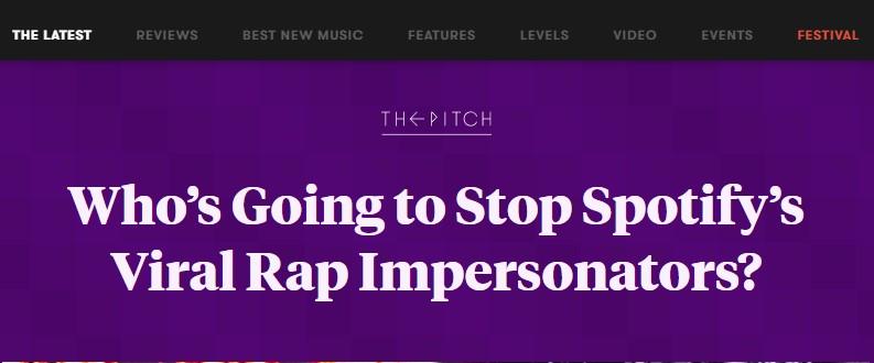 Artikel von pitchfork