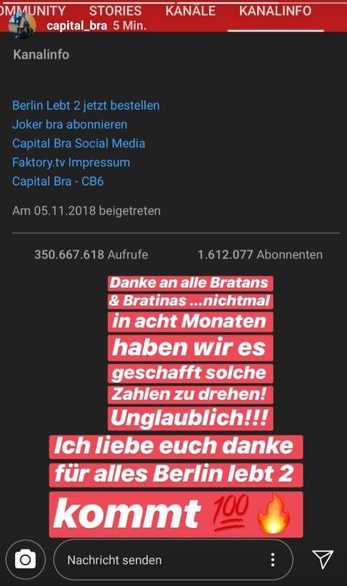 Capital Bra via Instagram