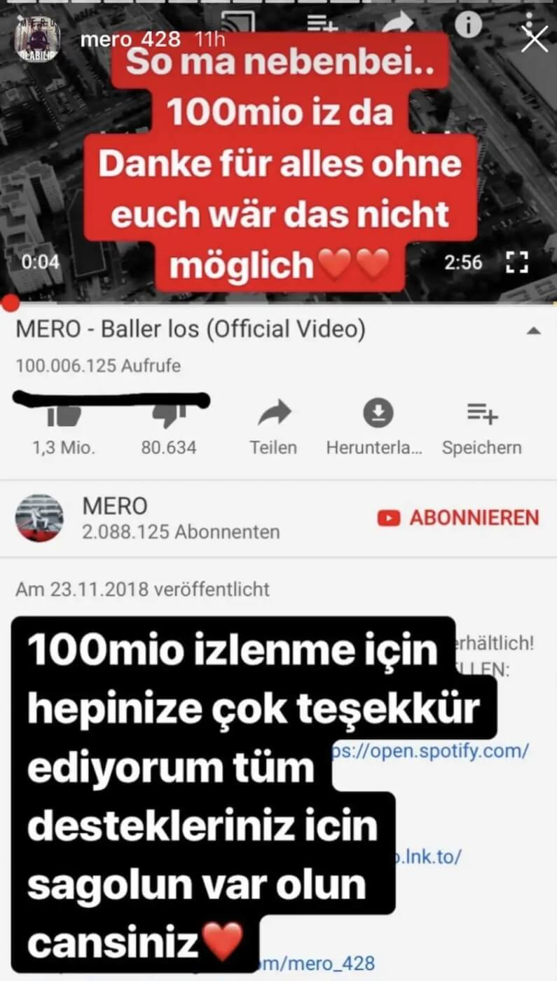 Mero via Instagram