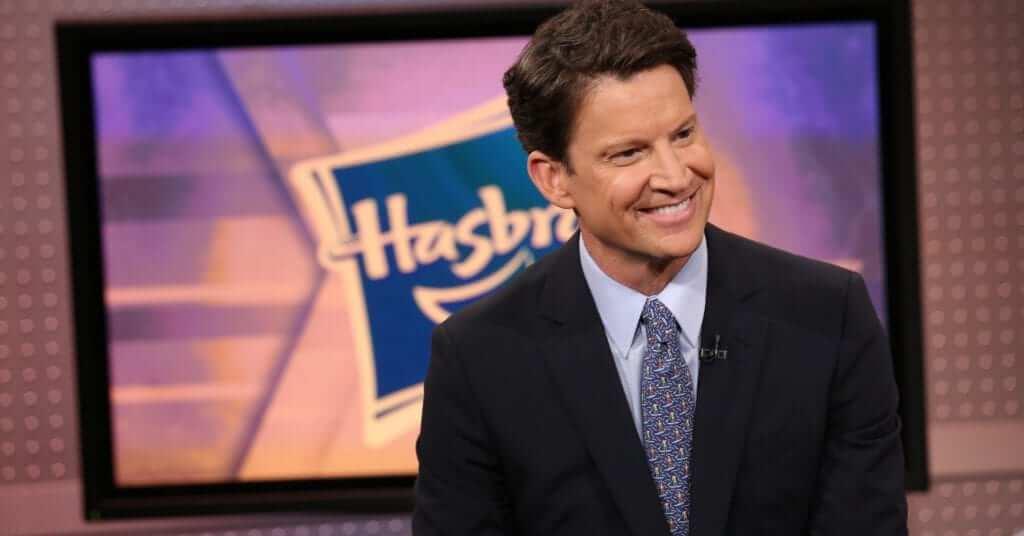 Brian Goldner, der Boss einer US-Amerikanischen Spielzeug-Firma Hasbro