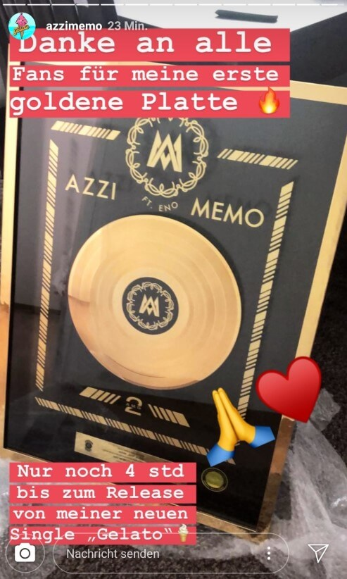 Azzi Memo via Instagram
