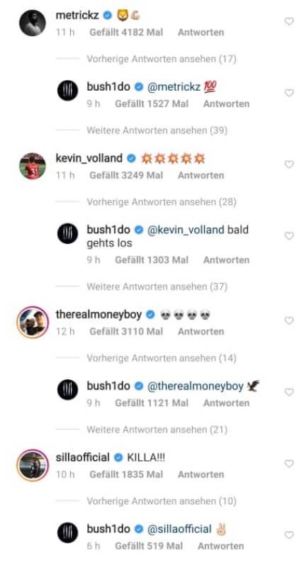 Reaktionen auf das Comeback von Bushido Teil 2