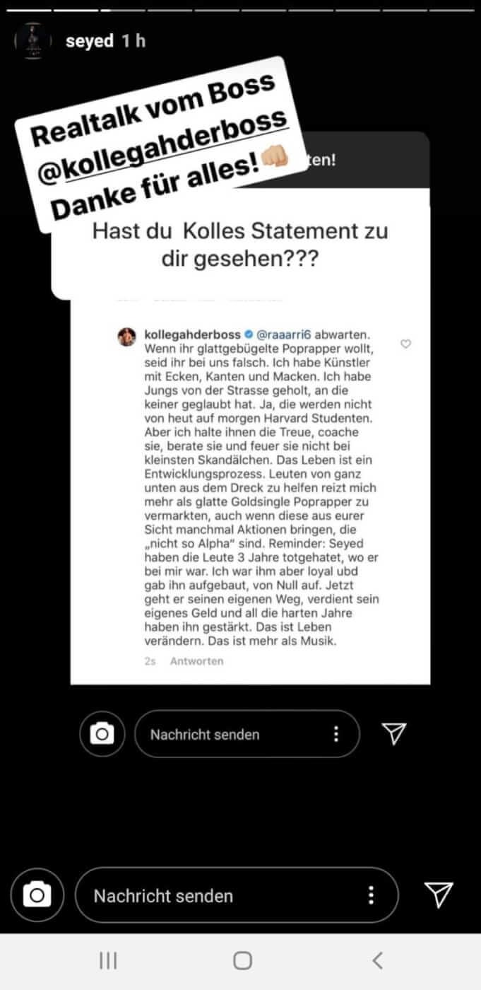 Kollegah via Instagram