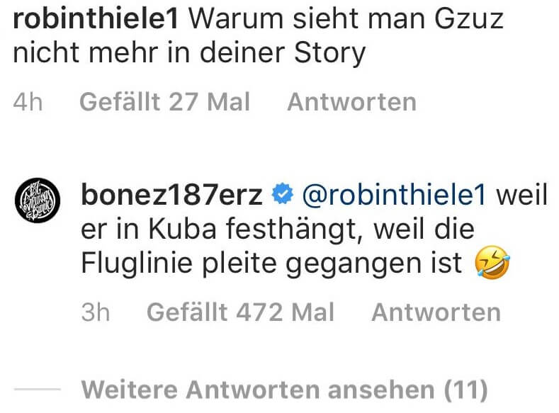 Bonez MC via Instagram