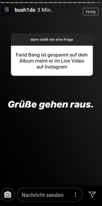 Bushido via Instagram