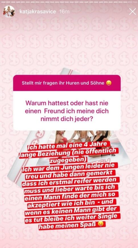 Katja Krasavice via Instagram
