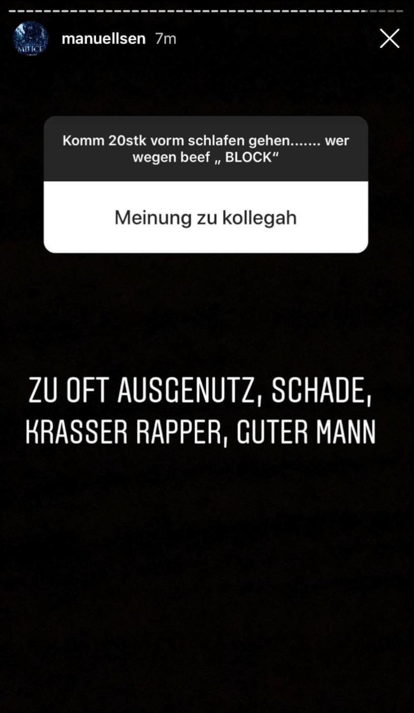 Manuellsen via Instagram