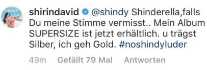 Shirin David via Instagram