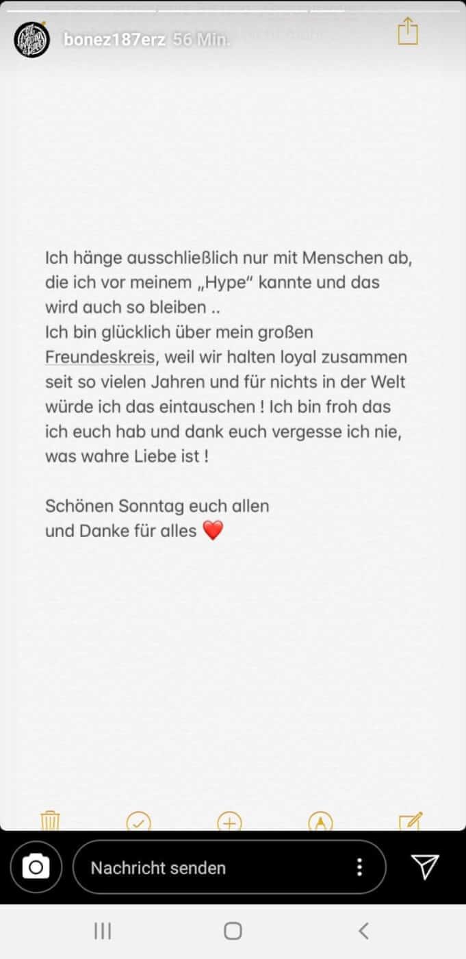 Bonez MC via Instagram 3
