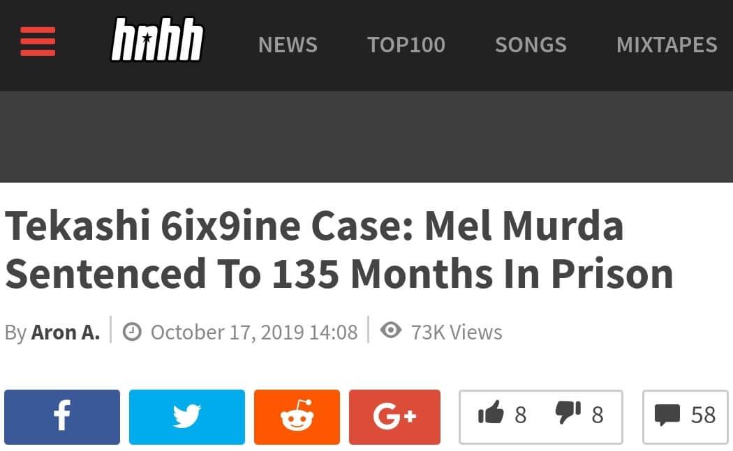 Mel Murda verurteilt