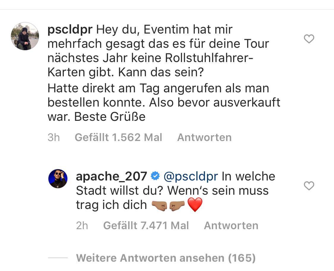 Apache via Instagram
