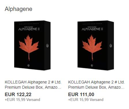Kollegah alphagene ebay