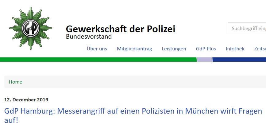 Artikel auf gdp.de