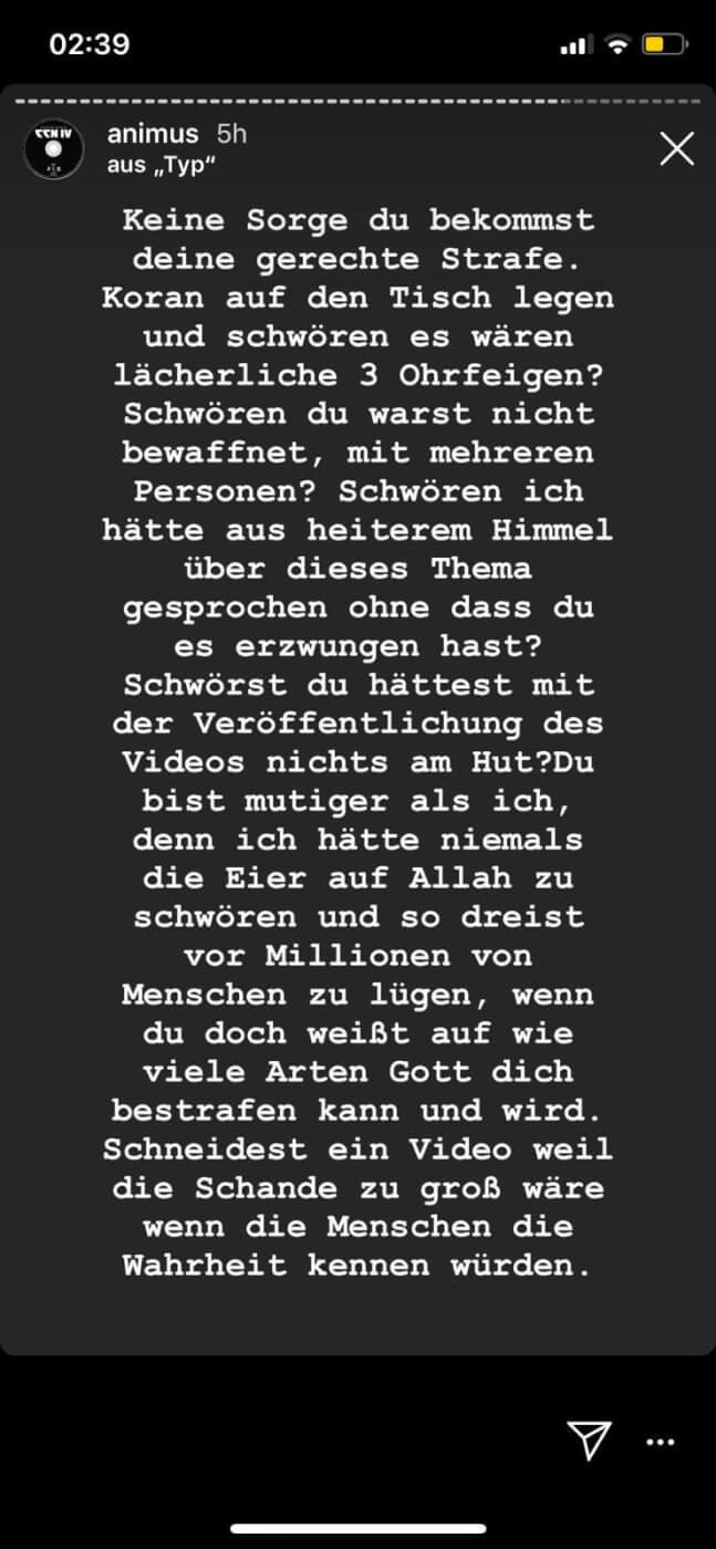 Animus via Instagram