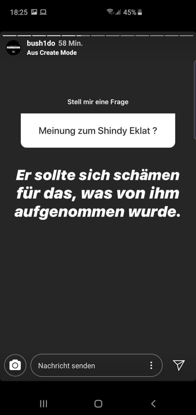 Bushido via Instagramm