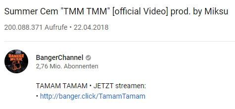 "Summer Cem - ""TMM TMM"""