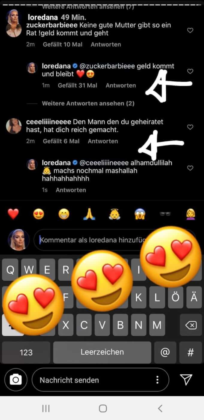 Loredana via Instagram