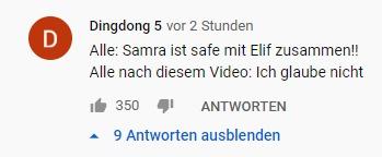Fan kommentiert Samra - Mon Ami