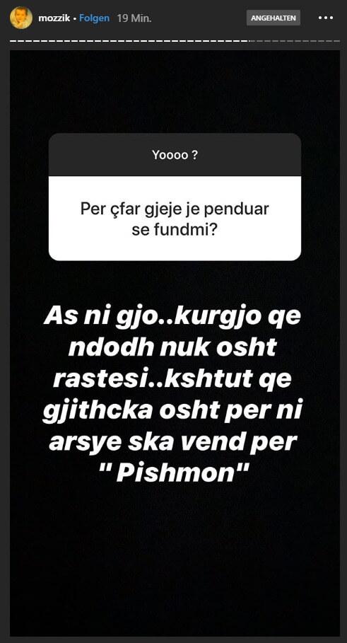 Mozzik via Instagram