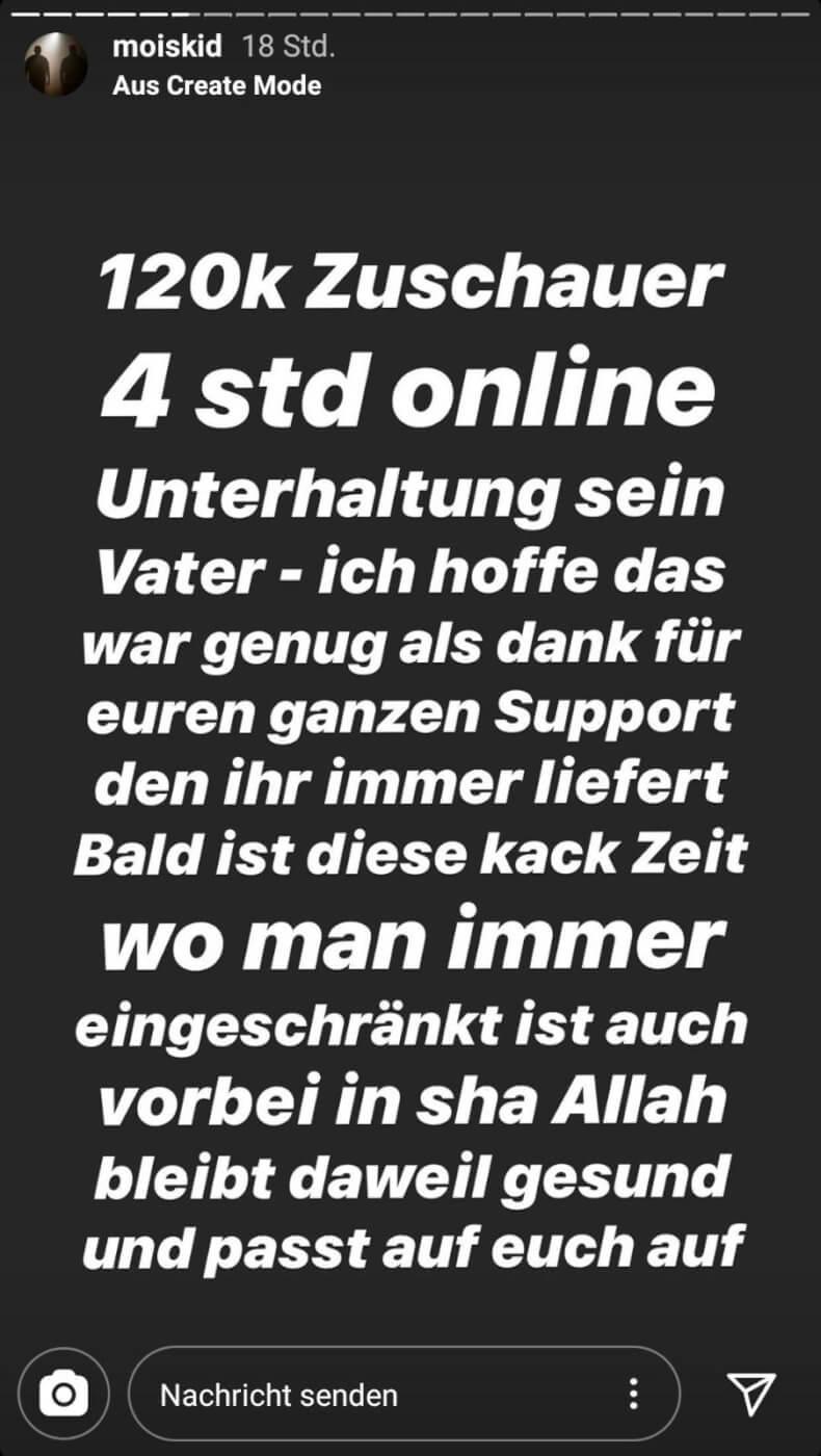 Mois via Instagram-Story