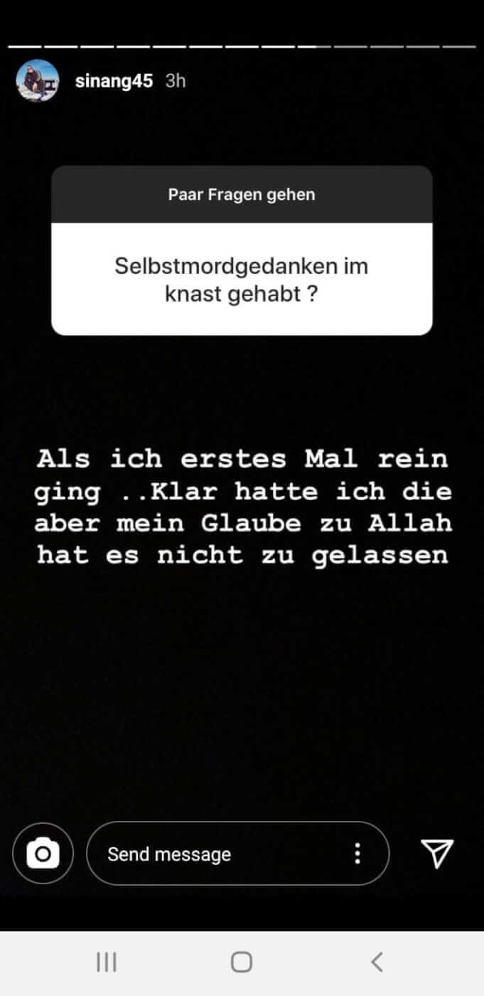 Sinan-G via Instagram