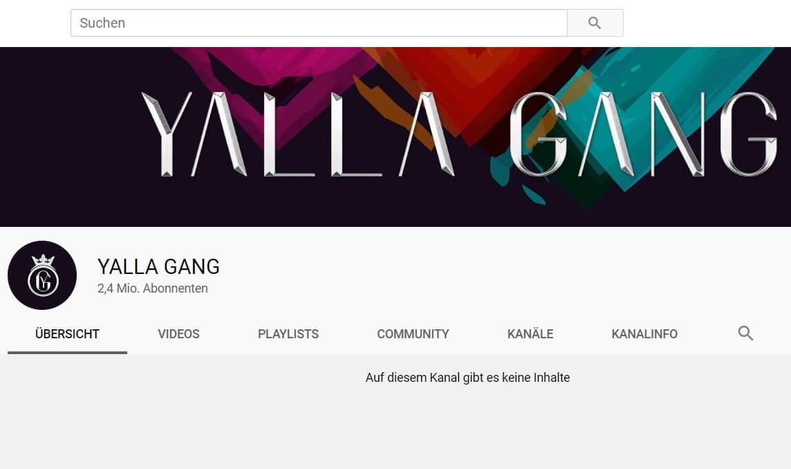 Yalla Gang - Neuer YouTube-Kanal