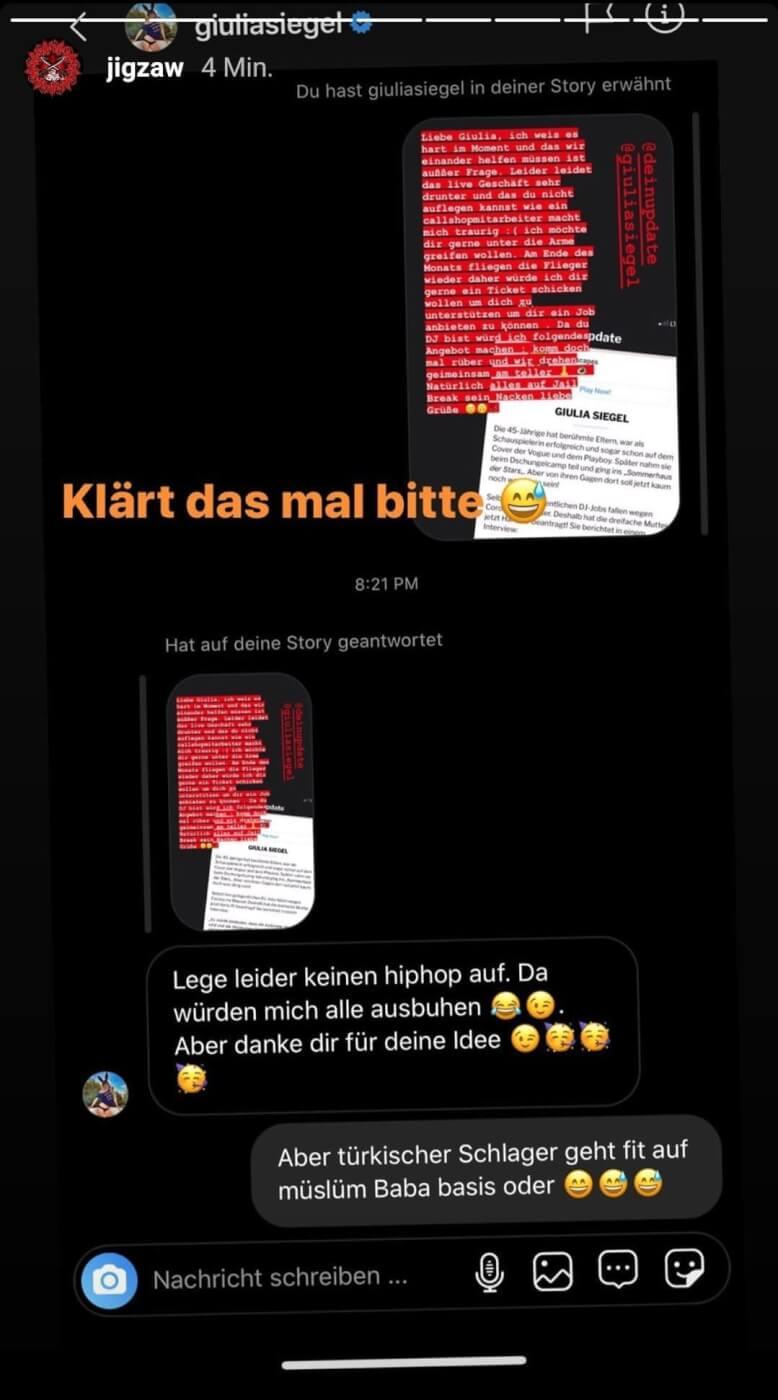 Jigzaw via Instagram
