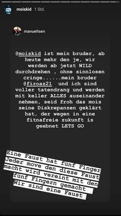Manuellsen via Instagram Story