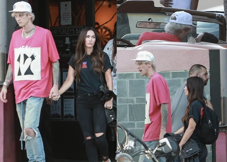Megan Fox und Machine Gun Kelly halten Händchen in der Öffentlichkeit