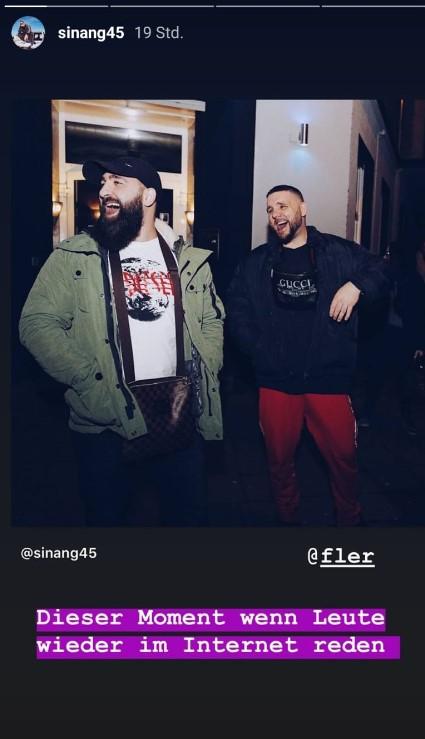 Sinan G verteidigt Fler via Instagram-Story