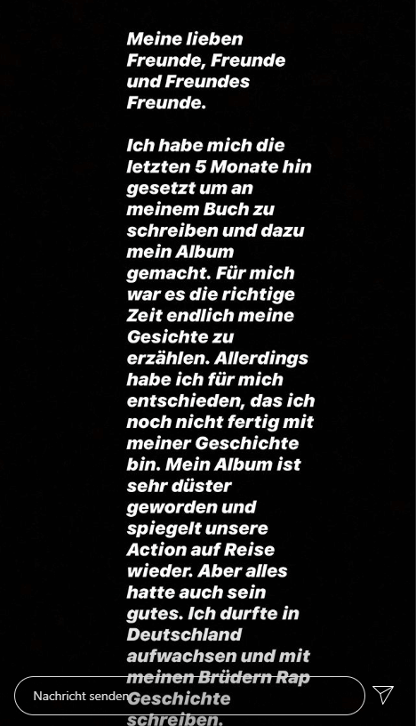 Zuna via Instagram 1/3