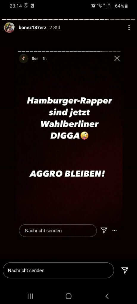 Fler und Bonez MC via Instagram