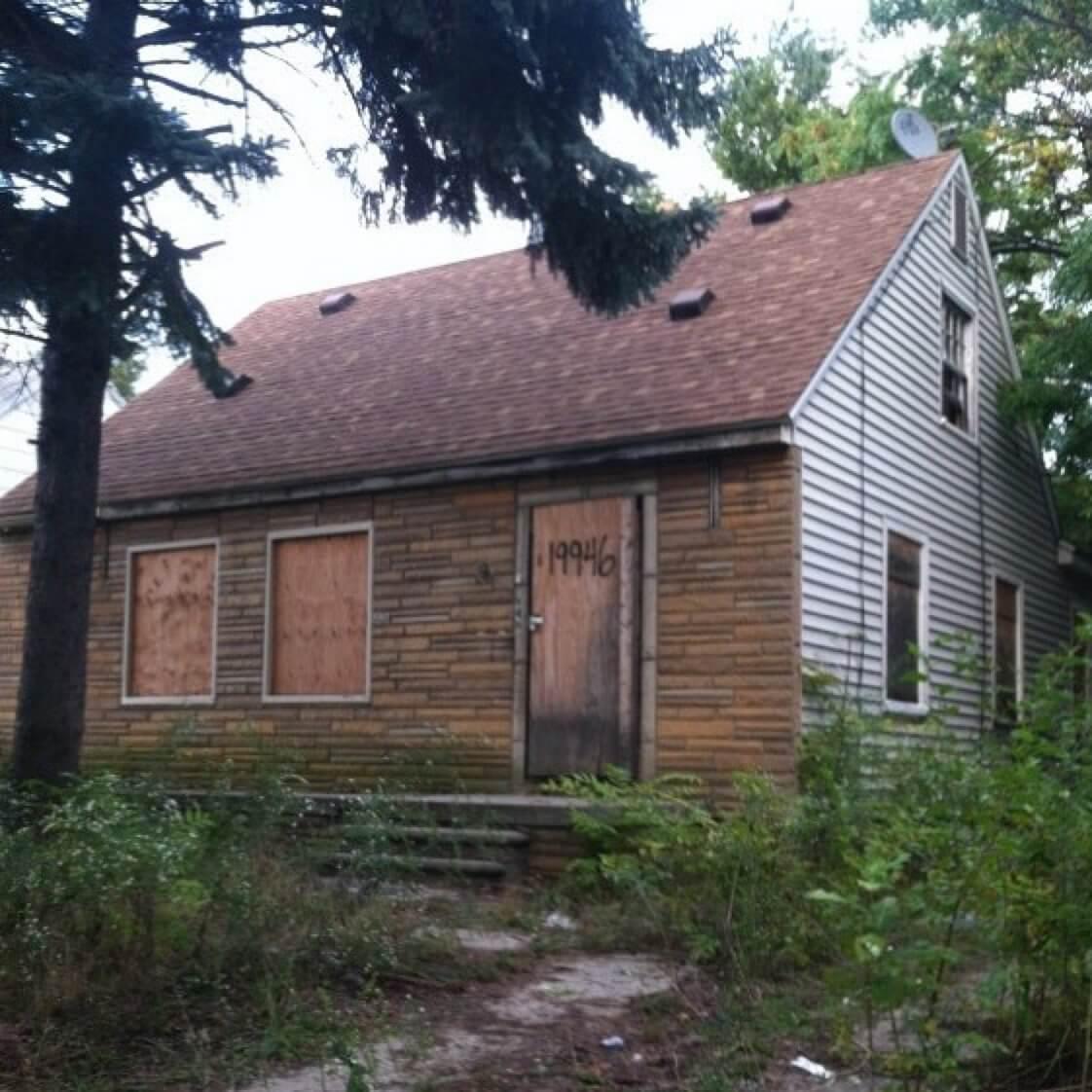 Kindheitshaus von Eminem
