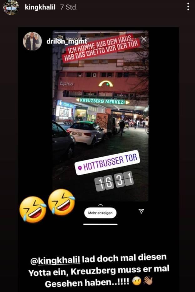 King Khalil und Drilon via Instagram Story
