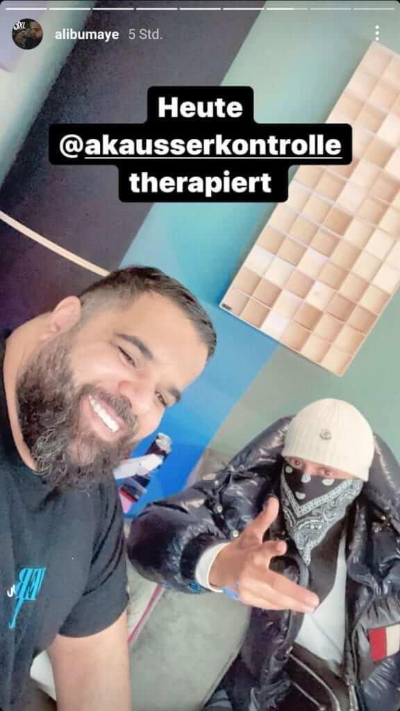 Ali Bumayé via Instagram Story