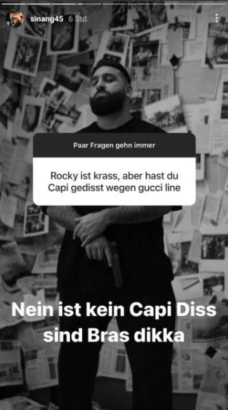 Sinan G via Instagram Story