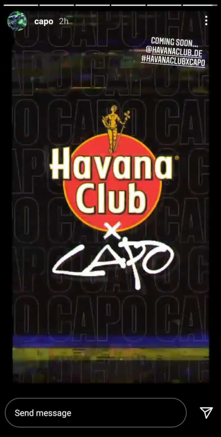 Capo x Havana Club Kollaboration