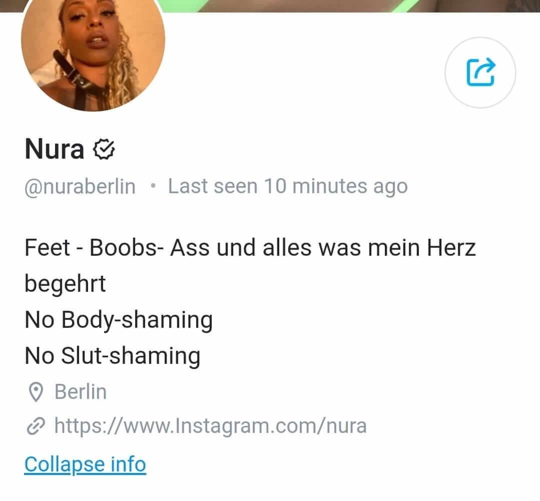Nura auf OnlyFans